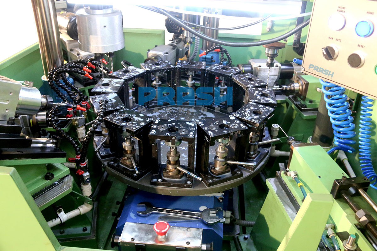 Twelve Station Rotary Indexing Drilling Tapping Reaming Machine